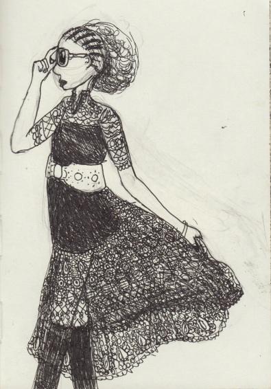 Lace Sashay